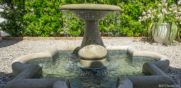 Side Patio Fountain