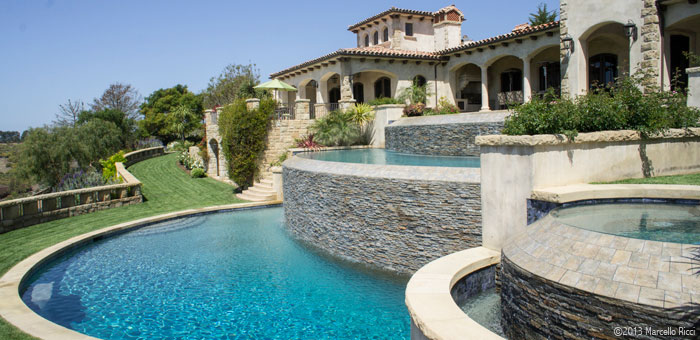 Macaluso Pools: Pools and Spas Gallery. Breathtaking images of ...